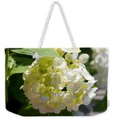 Lovely White Hydrangea Weekender Tote Bag