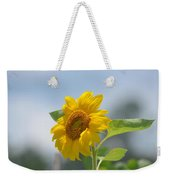 Lovely Yellow Sunflower Weekender Tote Bag