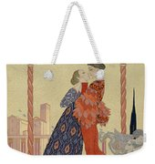 Lovers On A Balcony  Weekender Tote Bag