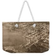 Aerial Of Lovers Point And Pacific Grove California July 10 1906 Weekender Tote Bag