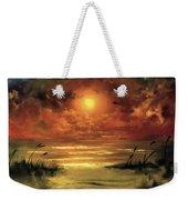 Lovers Sunset Weekender Tote Bag