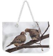 Lovey Dovey Weekender Tote Bag