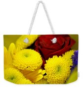 Loving Yellow Weekender Tote Bag