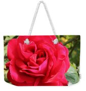 Lovely Red Rose Weekender Tote Bag