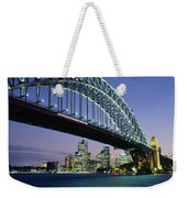 Low Angle View Of A Bridge, Sydney Weekender Tote Bag