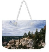 Low Angle View Of A Building, Grand Weekender Tote Bag