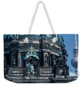 Low Angle View Of A Church, Berliner Weekender Tote Bag