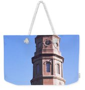 Low Angle View Of A Church, St. Philips Weekender Tote Bag