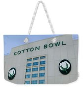 Low Angle View Of An American Football Weekender Tote Bag