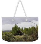 Low Clouds On The Mountain Weekender Tote Bag