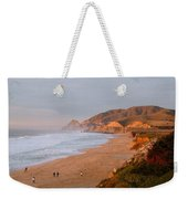 Low Sun On The Pacific Weekender Tote Bag