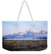 Low Sunrise Clouds Weekender Tote Bag