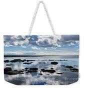 Low Tide At Lyme Regis 2 Weekender Tote Bag