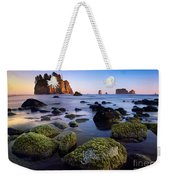 Low Tide At Second Beach Weekender Tote Bag