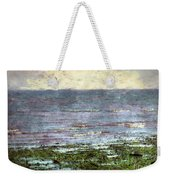 Low Tide At Sunrise Weekender Tote Bag