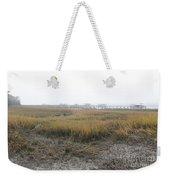 Low Tide Fog Weekender Tote Bag