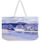 Low Tide  Iona Weekender Tote Bag by Francis Campbell Boileau Cadell