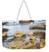 Low Tide Weekender Tote Bag by Marty Koch
