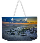 Low Tide On The Bay Weekender Tote Bag by Marvin Spates