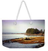 Low Tide Revelations Weekender Tote Bag