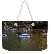 Lowcountry Duck Gathering Weekender Tote Bag