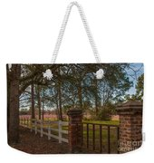 Lowcountry Gates To Boone Hall Plantation Weekender Tote Bag