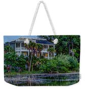 Lowcountry Home On The Wando River Weekender Tote Bag
