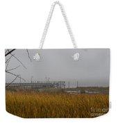 Lowcountry Marsh Fog Weekender Tote Bag