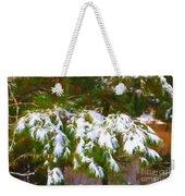 Lowcountry Snow Weekender Tote Bag