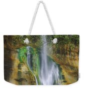 Lower Calf Creek Falls Escalante Grand Staircase National Monument Utah Weekender Tote Bag