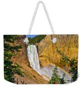 Lower Falls From Uncle Toms Trail Weekender Tote Bag