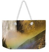 Lower Falls Rainbow - Yellowstone Weekender Tote Bag