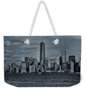 Lower Manhattan And The Freedom Tower Weekender Tote Bag
