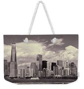 Lower Manhattan Skyline 2 Weekender Tote Bag