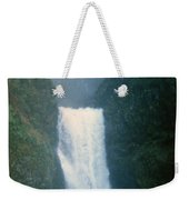 Lower Multnomah Falls Through The Mist Weekender Tote Bag