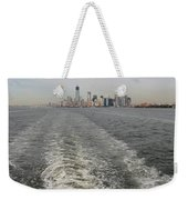 Lower New York Weekender Tote Bag
