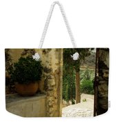 Lower Preveli Monastery Crete 3 Weekender Tote Bag
