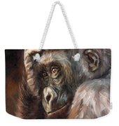 Lowland Gorilla Weekender Tote Bag