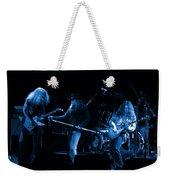 Ls Spo #26 Enhanced In Blue Weekender Tote Bag