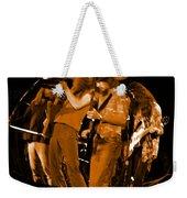 Ls Spo #68 Enhanced In Amber Fisheye Weekender Tote Bag