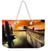 Lsu Shrimp Boat Weekender Tote Bag