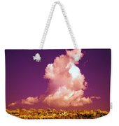 Lubriano, Italy, Infrared Photo Weekender Tote Bag