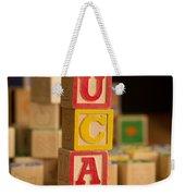 Lucas - Alphabet Blocks Weekender Tote Bag
