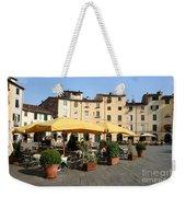 Lucca Piazza Del Mercato  Weekender Tote Bag