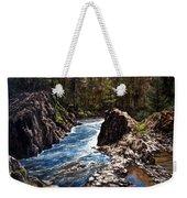 Lucia Falls Downstream Weekender Tote Bag