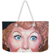 Lucille Ball Weekender Tote Bag