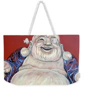 Lucky Buddha Weekender Tote Bag by Tom Roderick