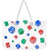 Lucky Dice Weekender Tote Bag