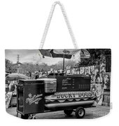 Lucky Dogs In Jackson Square Nola Bw Weekender Tote Bag