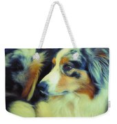 Lucky Dog's Life Weekender Tote Bag
